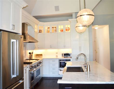stacked kitchen cabinets transitional kitchen stacked cabinets matluck construction consultants