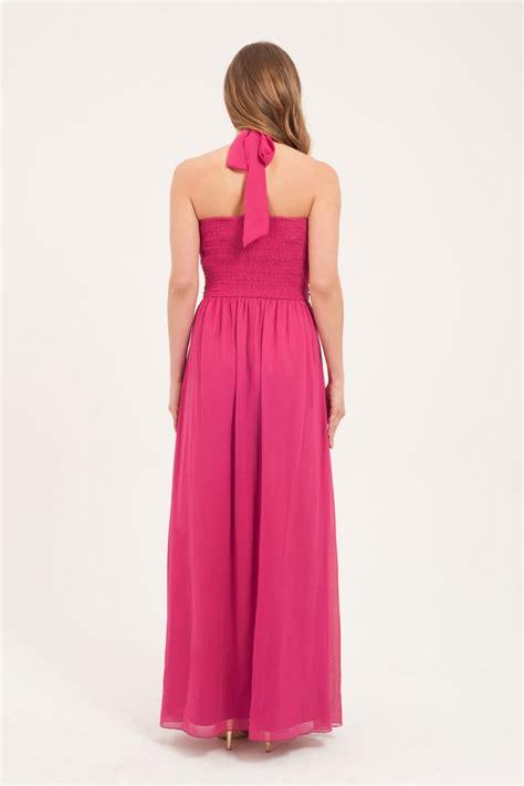 Maxi Magenta magenta embellished maxi dress from uk