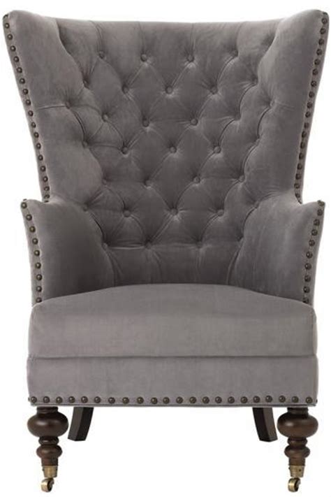 grey velvet armchair gray velvet chatham arm chair kirkland s
