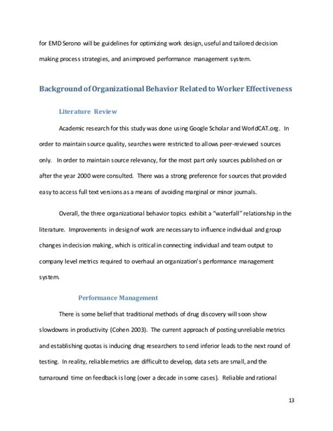 Organizational Behavior Mba Quizlet Chapter 7 11 13 14 by Emd Serono Analysis Mba Organizational Behavior Class