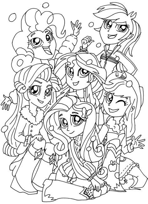 pony coloring my pony equestria coloring pages