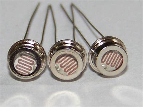 photoresistor smd photor 233 sistance de ldr de cellules photoconductrices de cds en m 233 tal d ohm de 6 5mm 0 5m