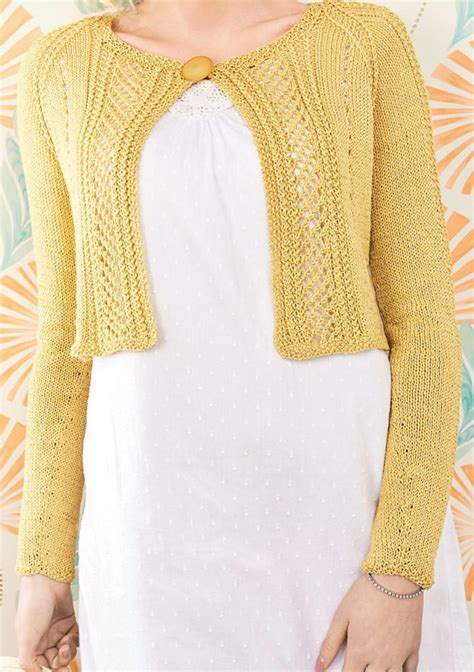 knit pattern cropped sweater cropped cardigan knitting patterns in the loop knitting