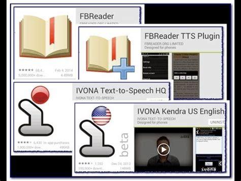 ivona text to speech apk fbreader ivona ebooks free audiobooks pcook ru