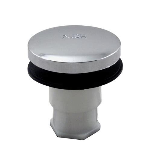 bathtub plug westbrass tip toe bath mechanism in chrome 793516mocp