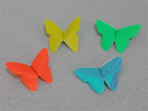 How To Make Paper Butterflies - origami butterfly step by step www pixshark