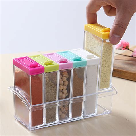 Kitchen Spices Storage Containers Buy Wholesale Condiment Storage Containers From