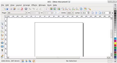 tutorial linux mint indonesia tilan awal sk1 mirip kan dengan coreldraw