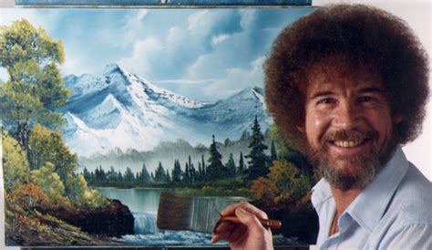 bob ross painting tv uncultured viewers the out of bob ross twitch