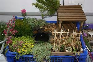 design a miniature garden rhs caign for school gardening