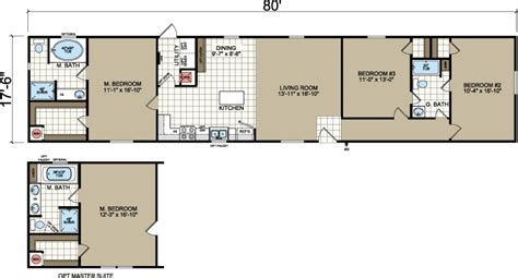 18 wide mobile home floor plans rp 125 ch 1880a floorplan 732 png tiny houses