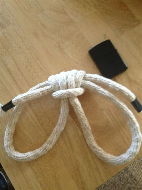 boatswain knot boatswain s handcuffs how to tie these self securing