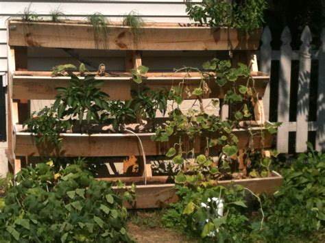 Garden Ideas With Wood Awesome Pallet Vertical Gardens Pallets Designs