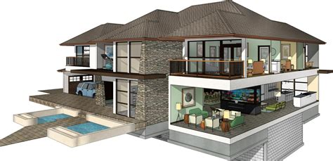revit architecture modern house design 8 11