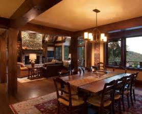 Rich Home Interiors 17 Best Images About Beautiful Log Cabin Dining Rooms On Credit Score Antler