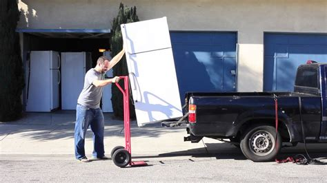Best Way To Move A Mattress By Yourself how to transport a fridge by yourself part 1
