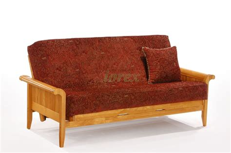 futon arms night and day venice futon chic futon design with sleigh