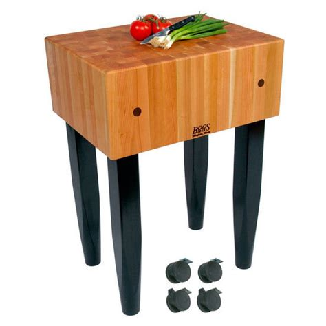 sur la table kitchen island john boos butcher block briel 100 sur la table kitchen
