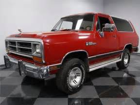 1990 dodge ramcharger le 175 000 suv 360 4x4