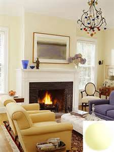 Light Yellow Living Room by Pale Yellow Living Room Glidden Candle Glow A Photo On