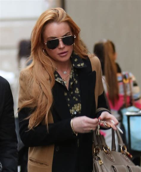 Lindsay Lohan Hangs Out With Jude At The Box by Miley Cyrus Hangs Out With Lindsay Lohan In New York