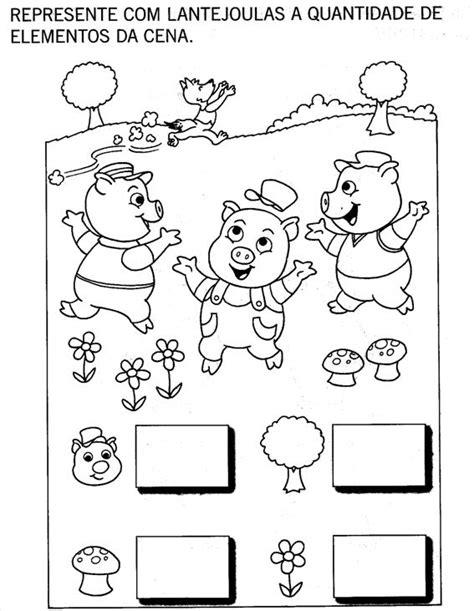 """Nosso Espaço da Educação: Projeto """"Os Três porquinhos"""" - 2"""