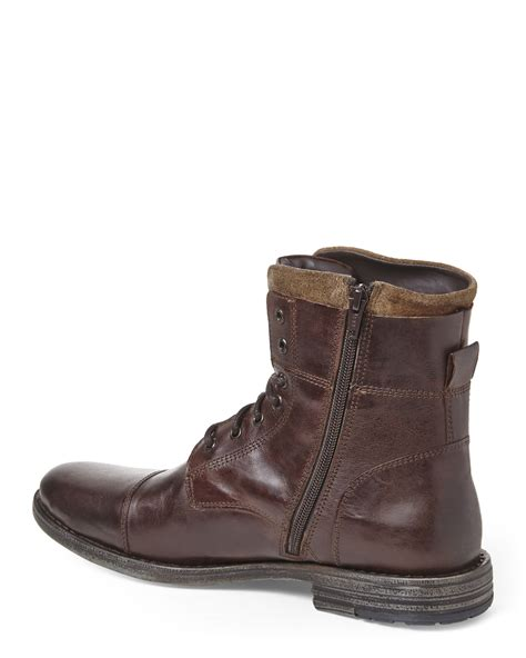 kenneth cole brown shoes kenneth cole reaction brown steer the wheel boots in brown