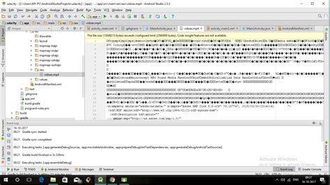 format file android studio video format issue in android studio 2 3 3 stack overflow