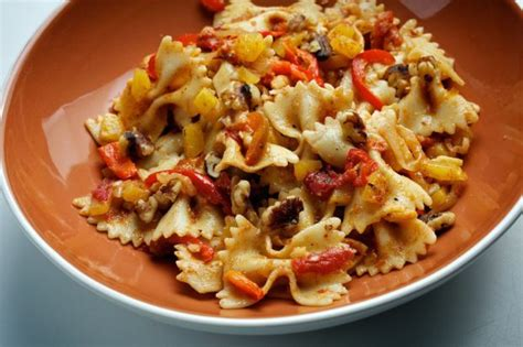 something different for dinner tonight what s for dinner tonight farfalle with squash and peppers lifestyles