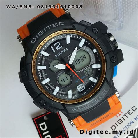 Jam Tangan Digitec Dg 2021t Black digitec dg 2078t black orange jam tangan sport sangar