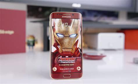Samsung Galaxy S6 Ironman Edition Iron Edition Samsung Galaxy S6 Edge On