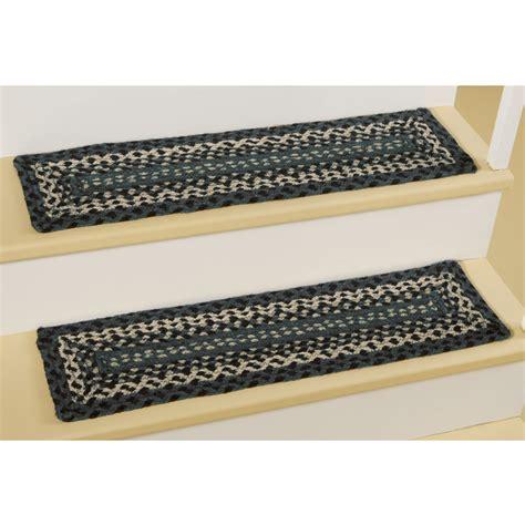 braided stair tread rugs braided rug stair treads rug designs