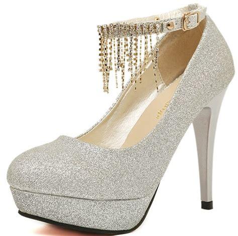 high heels for quinceaneras graceful shining tassels s high heels wedding prom