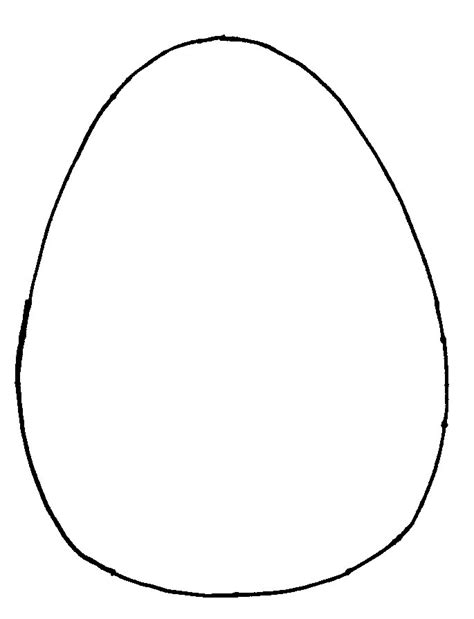 printable egg template easter crafts print your easter egg template all