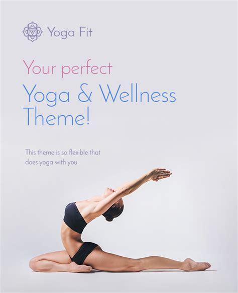 themeforest yoga yoga fit sports fitness gym wordpress theme