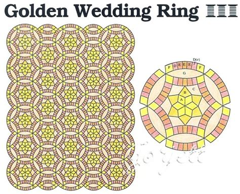 124 best Double Wedding Ring quilts images on Pinterest   Wedding ring quilt, Double wedding