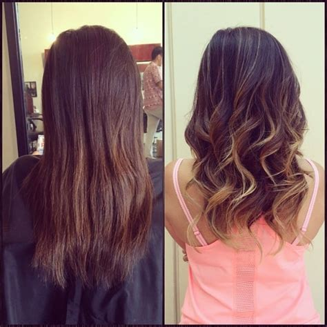 balayage highlights before and after home kit before and after highlights balayage on asian hair by