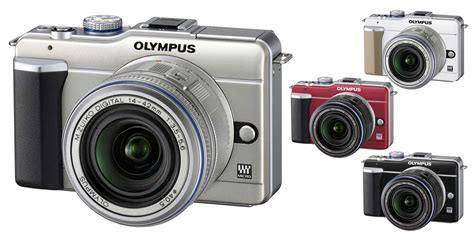 Kamera Olympus Epl 1 olympus pen e pl1 systemkamera 2 7 zoll chagner mit de kamera