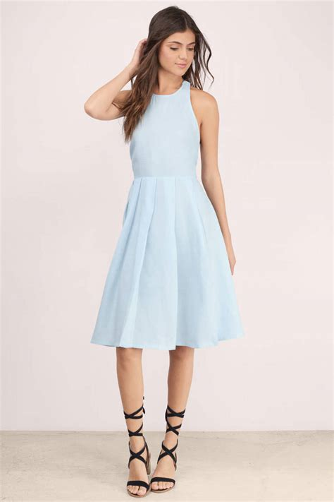light blue pleated dress light blue midi dress good dresses