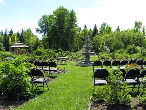 Botanical Gardens Rental Rentals St Albert Botanic Park