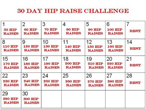 30 day and challenges on