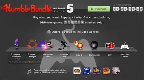 humble bundle android the humble bundle 5 con android ya est 225 aqu 237