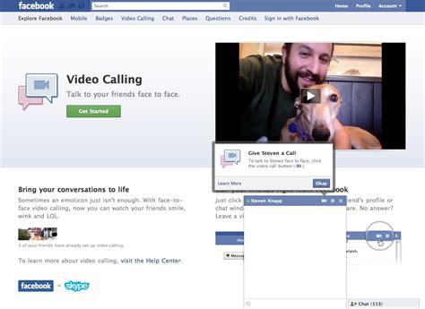 fb video call