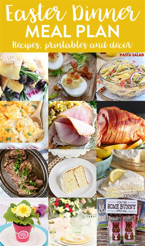 easter dinner easter dinner menu and meal plan we ve done the work for