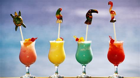 tropical drink mixer weekend 3 tropical drinks to make you forget winter