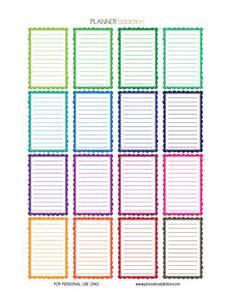 Planner Online Best 25 Printable Planner Stickers Ideas On Pinterest