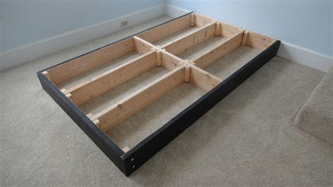 How To Make Drawers Bed by How To Build A Platform Bed With Storage Drawers The