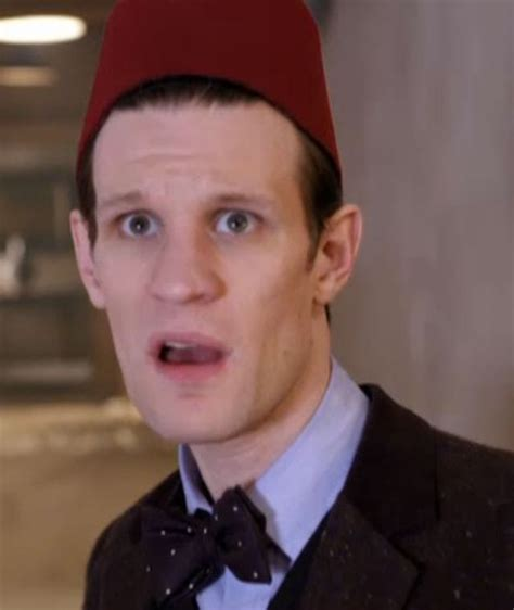 david tennant fez matt smith and david tennant come face to face in doctor
