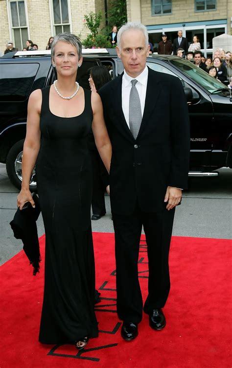 jamie lee curtis with husband jamie lee curtis evening dress jamie lee curtis looks