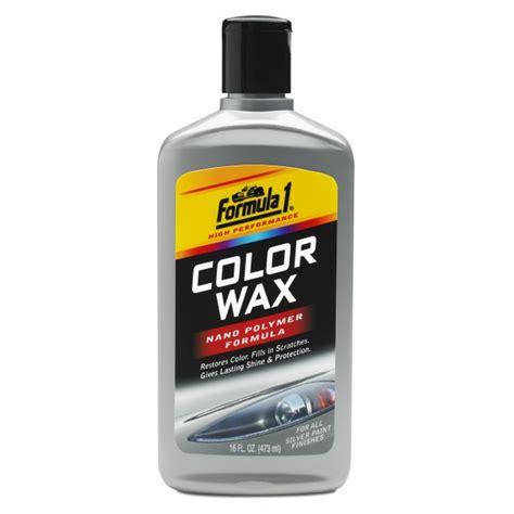 color wax silver car wax formula 1 auto care products